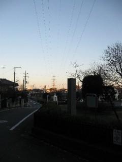 久米川古戦場の公園