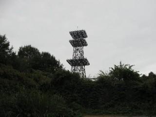 たかさすやま 山頂 NTTアンテナ 中継基地