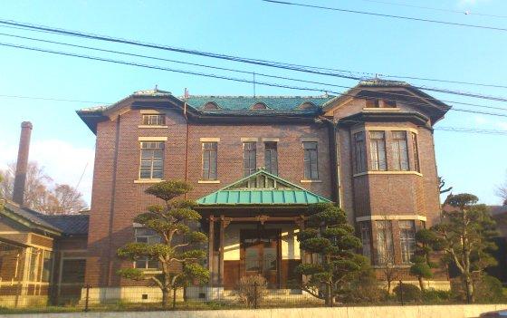 石川組西洋館 旧い建物