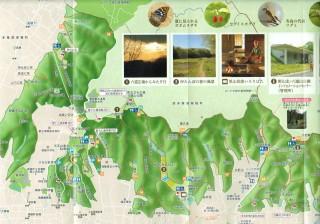 狭山丘陵 狭山湖マップ MAP