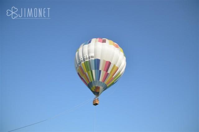 熱気球体験 朝市 航空公園