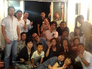 古谷家のホームパーティ