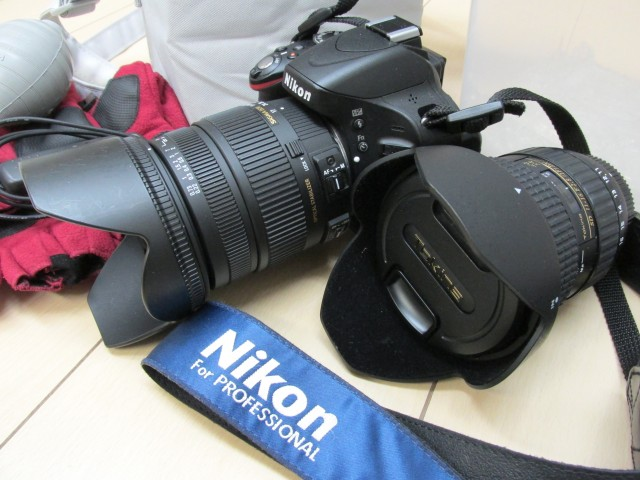 ニコン D5100、SIGMA 17-70mm(F2.8-4)、TOKINA AT-X 116 PRO DX II 11-16mm F2.8
