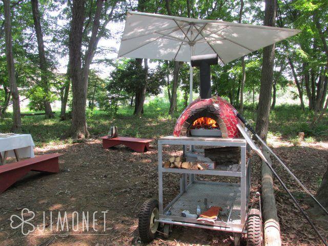 旅するピザ窯 移動式ピザ釜